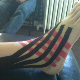 kinesio tape video