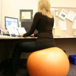 An Example of Bad Sitting Ergonomics